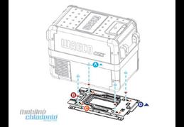 WAECO Upevňovací sada pro autochladničku WAECO CFX 28