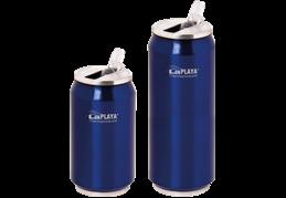 LaPlaya Cool Can - Nerez 0,5 litru modrá termoplechovka